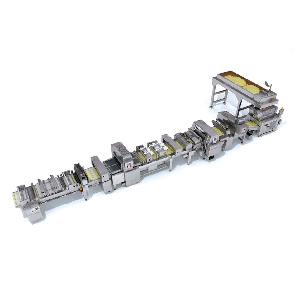 Rheon Modell V4 Universal Baguette Linie