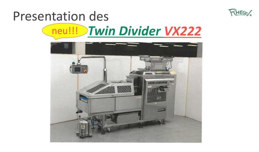 V4 Twin Divider VX222